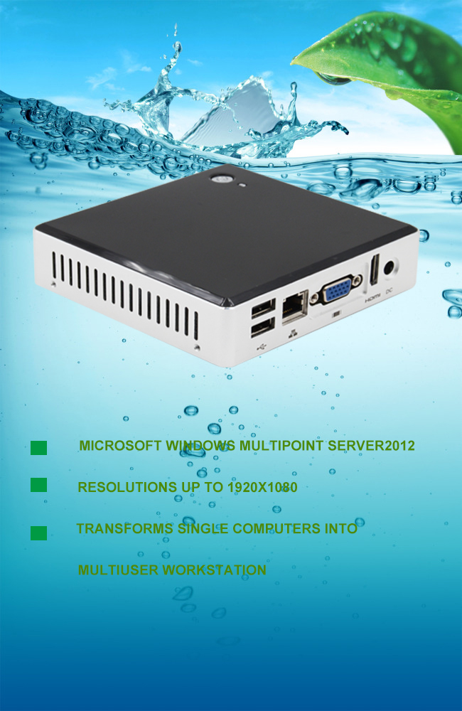 Support Resolutions 1902x1080P Special WMS2012 Sunde Zero Client