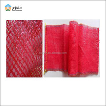 Reusable 20KG green PE small mesh netting bags for onions fruits vegetables