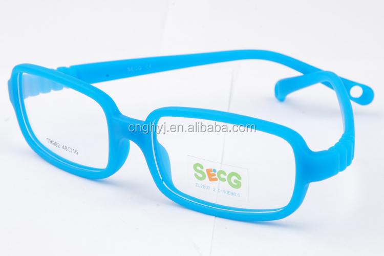 Rubber Eyeglass Frames For Toddlers : 2015 Newest Design Kids Rubber One-mold Eyeglasses Frames ...