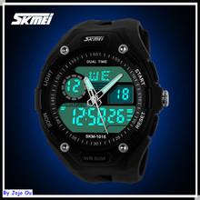 2015 Manufacturer HOT SKMEI 1015 Brand New Analog Digital Watches