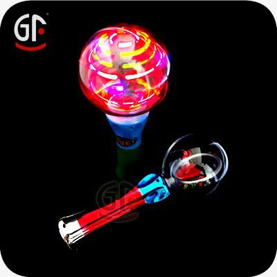 Light Up Spinning Ball Toy