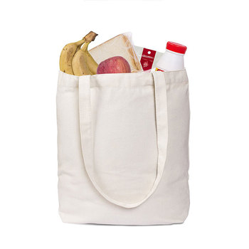 Factory Price High Quality Eco 100% nature biodegradable 12oz cotton canvas tote bag