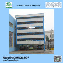 Vertical horizontal mechanical car parking system