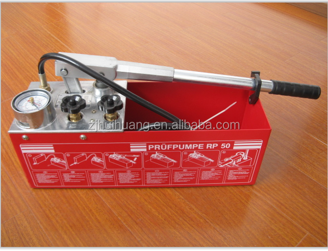 pipe inspection test pressure pump ,hand tools for pipeline pressure test equipment
