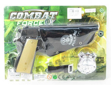Fire stone gun set combat toy gun gun with sound and fire