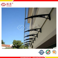 YUEMEI high quality polycarbonate sheet building construction protection board