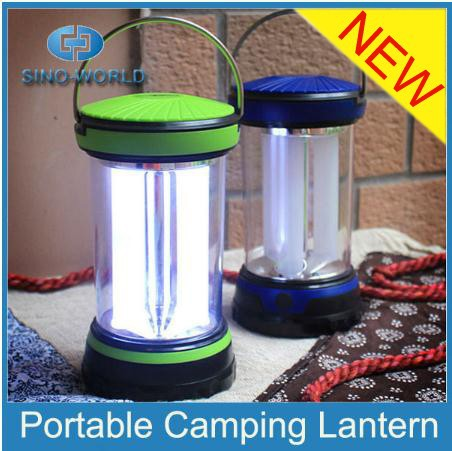 Outdoor small plastic LED lantern camping light Bivouac lantern camping gas lamp