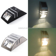 waterproof solar wall light with super bright LED