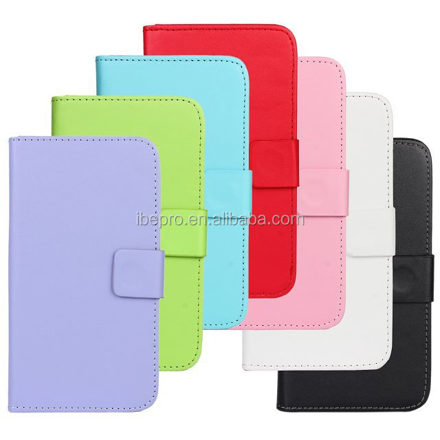 High Quality Luxury Leather Flip Cover Case for Samsung S5