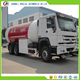 HOWO 6X4 25cbm truck mounted cooking gas filling station