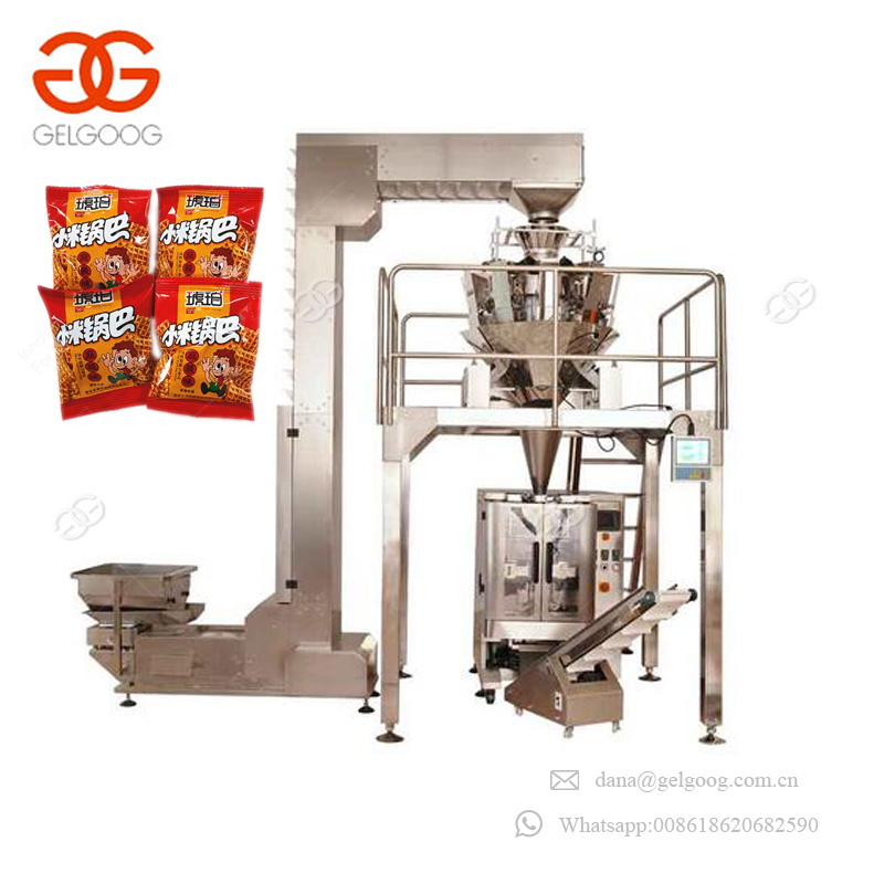 Factory Price Low Cost Potato Chips Pouch Food Filling And Packaging Machinery Packing Peanuts Machine