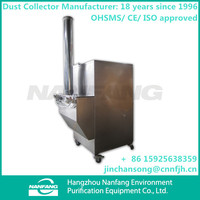 Manufacture High Quality TUOER-12/C Industrial Cartridge Vibrating Portable Flour Dust Catching Machine