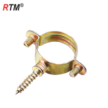 B18 M7 galvanized steel pipe clamp for wood galvanized clamp