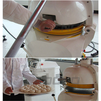 Dough Baller Machine/high Quality Dough Divider/bread Dough Divider Rounder Roller Machine
