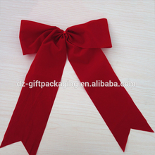 Wholesale Red Christmas Velvet Bow Tie