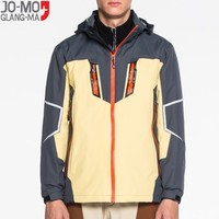Customize logo 3 in 1 windproof outdoor clothing men winter jackets
