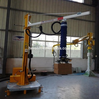 suction cup Box and carton vacuum tube lifter for sale