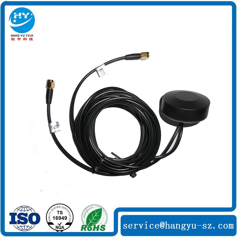 New car GPS antenna with srew mounting