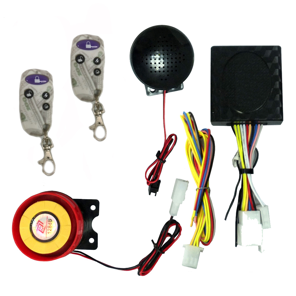 Accessories Human Voice Motorcycle 125db Alarm With Remote Key Start