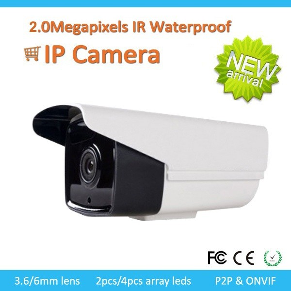 2.0Megapixel IR Waterproof bullet IP Camera