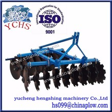 Farm implement disc harrow for tractor