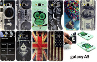 New camera dollars flag printing Flower TPU Case Cover for Samsung Galaxy A5 A500F A5000