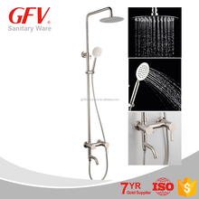 GF1038 creative Hot sell competitive price brathroom rain shower set