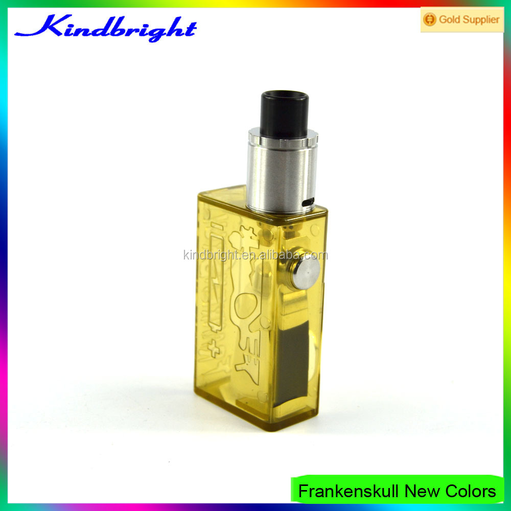 24mm high quality vape box mod frankenskull box mod/ frankenskull box mod clone/Ecig box mod in stock for wholesale