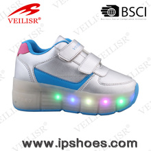 fashion roller shoes with light, confortable and breathable sport shoes,