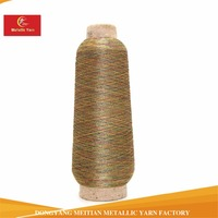 ST type metallic yarn colorful embroidery thread