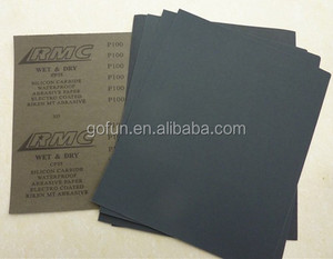 Good quality Silicon carbide Latex waterproof abrasive paper