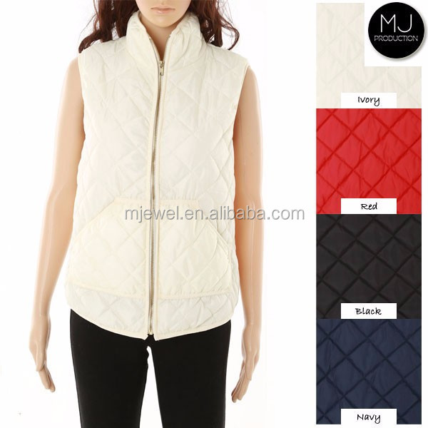 Factory new design quilted vest
