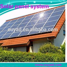 5000w Factory direct sale high performance 20 kw home solar panel kit