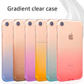 Wholesale Soft TPU Cover For Mobile Phone Color Changing Transparent Clear Case For iPhone 7