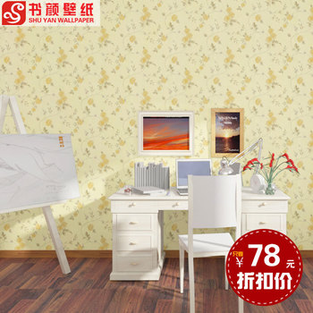 Romantic garden flower living room bedroom three-dimensional lines marriage room TV backdrop entrance -3d wall paper designer