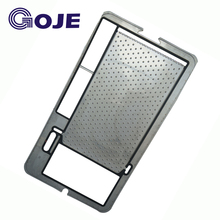 GOJE Energy saving 200 degrees Celsius NBR gasket plate heat exchanger price