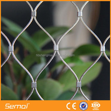 High Quality 304 Stainless Steel Wire Rope Mesh for decoration