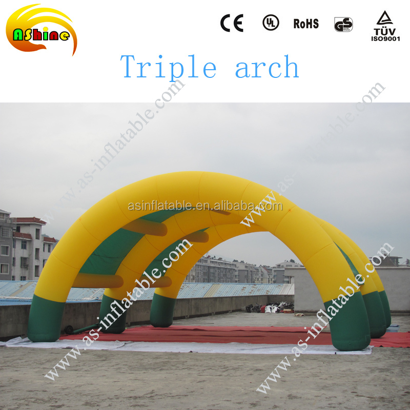 Promotional advertising cheap inflatable arch for sale