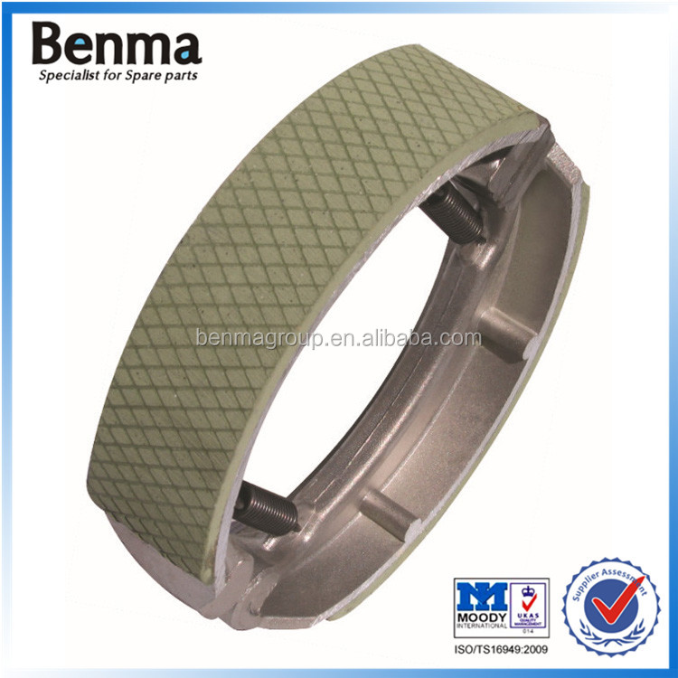 China manufacturer sell performace stabilize good quality motorcycle CG125 brake shoe