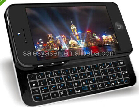 Ultra thin Magnetic Sliding wireless Bluetooth Keyboard Case for Samsung Galaxy S5 i9600