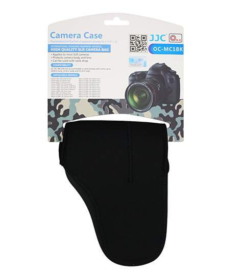 Neoprene Camera case For Canon JJC Camera Case OC-MC1BK Camera Waterproof Case For Nikon