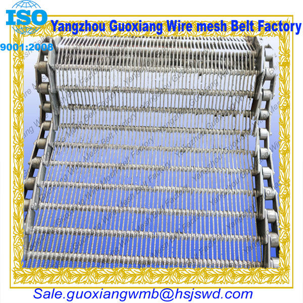 high quality chain link candy conveyor belting