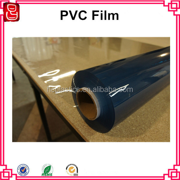 Transparent PVC Shrink Plastic Film