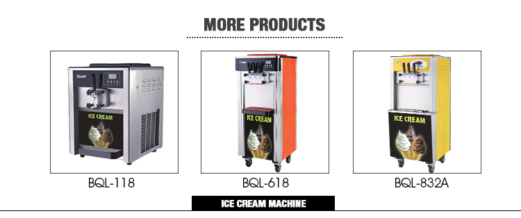 Completely-sealed compressor ice cream vending machine