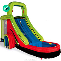 10x4x7meter hot sale funny used inflatable water slide for sale