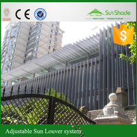 Hollow louver//Outside plantation shutter louvers/adjustable louver shutter