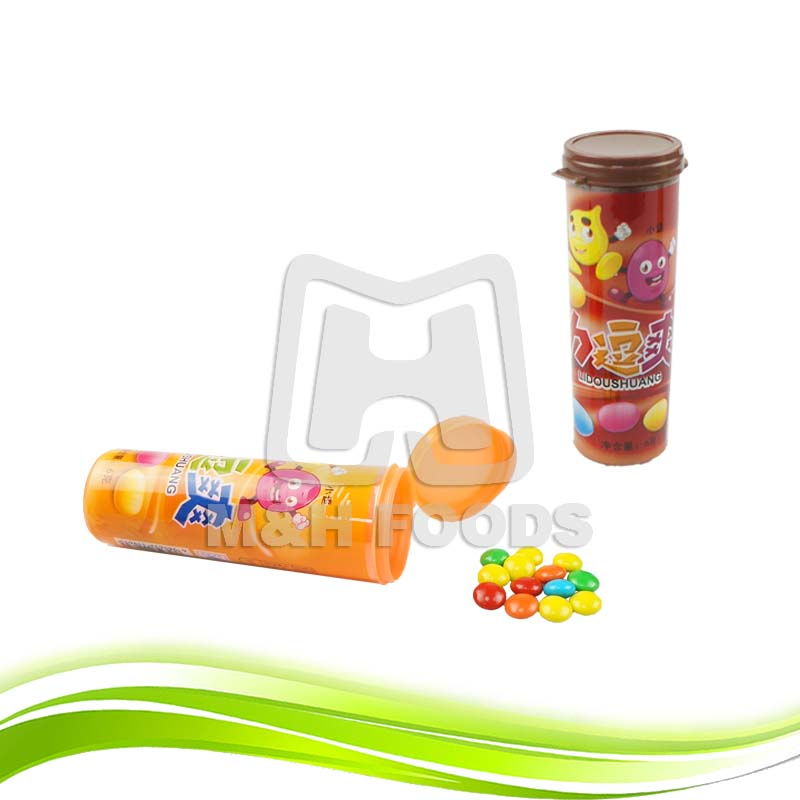 Mix Colorful Chocolate Beans with Sweet Candy Coated Chocolate