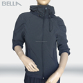 OEM factory price hoody woman hoodies jacket, young lady woman jacket