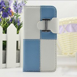 Magnets lovely wallet case for iphone5 flip cell phone case new product for 2014 brand new case