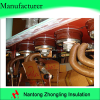 electrical insulation crepe paper tube transformer bushing flexible materials